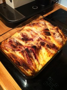 Ugly Duckling Bread & Butter Pudding