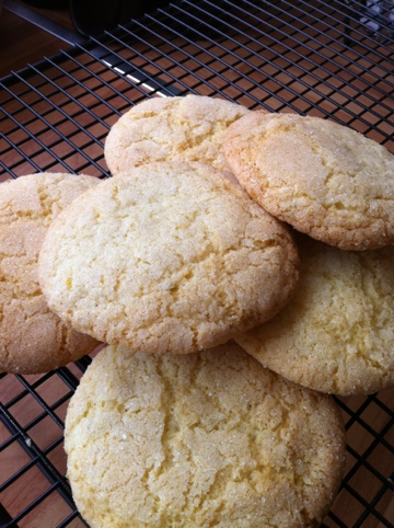 Citrus Crackle Cookies