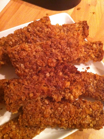 Fudgy Flapjack Fingers